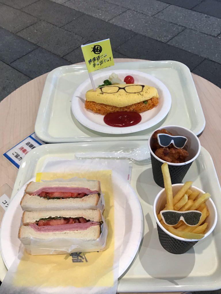 金森のそばかすオムライスand水崎のセレブなサンドイッチ